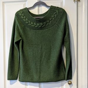 J. McLaughlin Cashmere Sweater Sz M